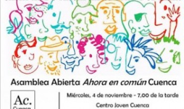 Asamblea abierta Ahora en Común Cuenca