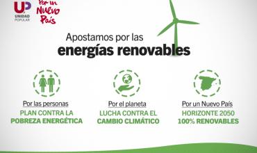 Apostamos por las energías renovables