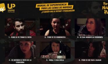 Manual de supervivencia para las cenas de navidad ¿a quién vas a votar? #YoAGarzón