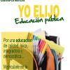 IU-CLM apoya las reivindicaciones de los interinos de educación.