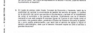 Preguntas de IU al Pleno del Ayuntamiento de abril.