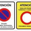 La Asociación de vecin@s del Casco Antiguo realizan una campaña contra la política de movilidad del Ayuntamiento.