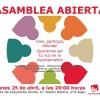 Asamblea Abierta de Izquierda unida: 25 de abril a las 20h, sede IU.