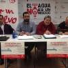 Acto Público sobre el servicio de aguas del Ayuntamiento de Cuenca.