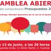 Asamblea local Izquierda Unida: Presupuestos 2016