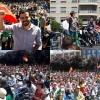 Alberto Garzón celebrando El día de CLM