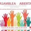 Asamblea abierta IU jueves 28 a las 20h en la sede