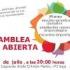 Asamblea local abierta Izquierda Unida: 8 de julio a las 20h
