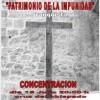 """Concentración Cuenca """"patrimonio de la impunidad"""" lunes 18 a las 20h en la Catedral"""