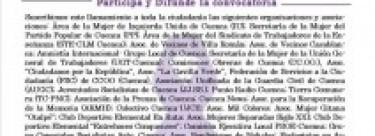 Concentración contra la Violencia Machista: Lunes 25 a las 20.30h en plz España