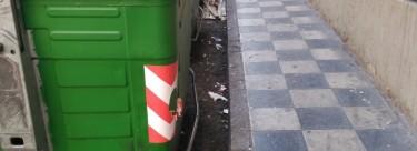 Vídeo Denuncia IU Cuenca ante la falta de limpieza