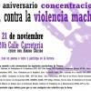 X Aniversario de los Lunes de Luto: Concentraciones contra la Violencia machista en Cuenca.