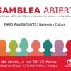 Asamblea local de Izquierda Unida lunes 9 a las 20.15h