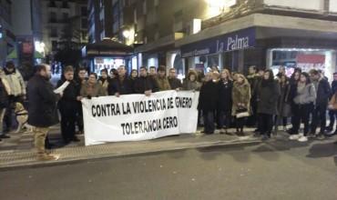 Concentración contra la Violencia Machista en Cuenca.