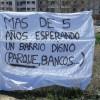 El sábado se movilizó la vecindad del barrio Cerro de la Horca, exigen el asfaltado integral del todo el barrio y mobiliario urbano.