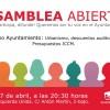 Asamblea abierta IU: jueves 27 de abril a las 20.30h.