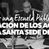 FIRMA: Por una Escuela Pública y Laica. ¡Derogación de los Acuerdos con la Santa Sede de 1979!