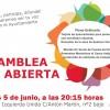 Asamblea abierta IU: 5 de junio a las 20:15h