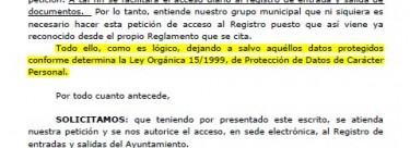 Comunicado del Grupo Municipal de IU ante las manipulaciones del Alcalde de Cuenca.