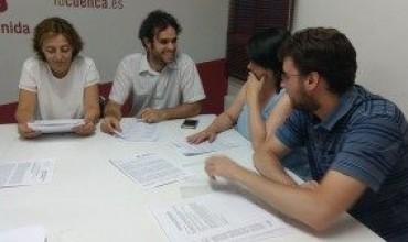 IU inicia el curso político en Cuenca tras un verano muy activo.