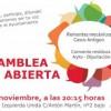 Asamblea abierta IU: Lunes 6 a las 20.15h.