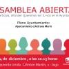Asamblea abierta Izquierda Unida: lunes 4 a las 20.15h