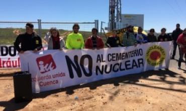 IU destaca que en estos presupuestos no se refleja ninguna inversión en el ATC de Villar de Cañas, un gran logro tras años de lucha ciudadana contra esta instalación de residuos nucleares.