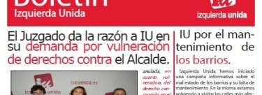 Boletín IU recopilación noticias otoño'17
