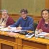 Izquierda Unida pide que el Ayuntamiento recupere la posesión de la esquina de la calle Tintes con la de Fray Luis de León.