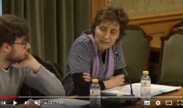 Vídeo de Ana C defendiendo la Moción de IU para recuperar el edificio cedido a la Fundación Sánchez Vera – Pleno 07.03.18