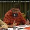Vídeo Pablo G: Debate del Cerro de la Horca en el Pleno 11.04.18