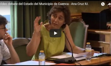 Vídeo debate del Estado del Municipio de Cuenca – Ana Cruz IU