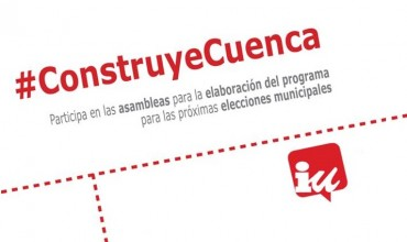 La bajada de las tasas del agua, primera medida del programa electoral de IU para las elecciones municipales.