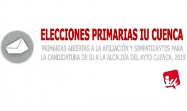 Izquierda Unida inicia su proceso de primarias para elegir candidatura para las próximas elecciones municipales de Cuenca.