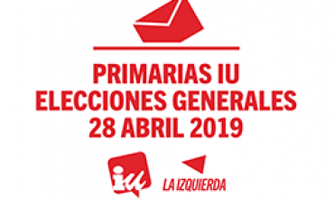 Primarias y referéndum de IU para las Elecciones Generales de 2019