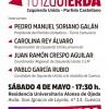 🔻Acto Presentación de la Candidatura#TuIzquierda Izquierda Unida–Partido Castellano-Tierra Comunera