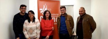 Encuentro de Secretariado Gitano con Pablo García, candidato de Izquierda Unida