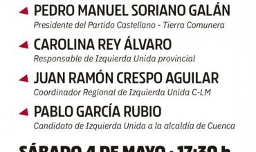 Izquierda Unida y el Partido Castellano celebran un acto público de presentación de su candidatura este sábado