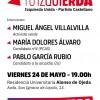 Acto cierre de campaña Izquierda Unida – Partido Castellano #TuIzquierda.