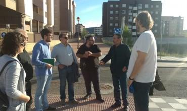 Izquierda Unida-Partido Castellano insisten en la urgencia de finalizar la urbanización del Cerro de la Horca