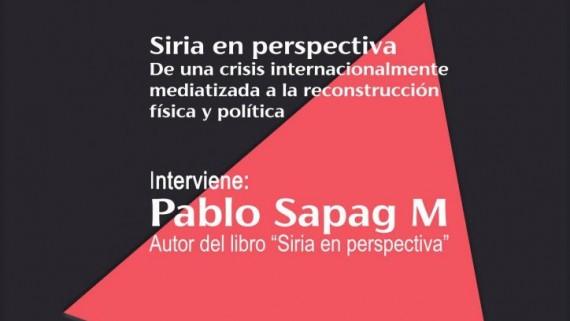 El periodista y profesor de la Complutense Pablo Sapag trae a Cuenca la actualidad de Siria y su último libro