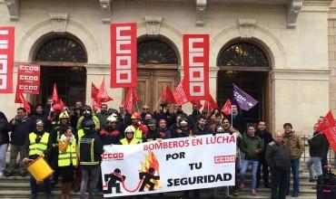 IU C-LM reprocha al PSOE los incumplimientos sobre los bomberos de la provincia de Cuenca