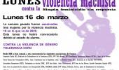 Un lunes más contra la Violencia Machista