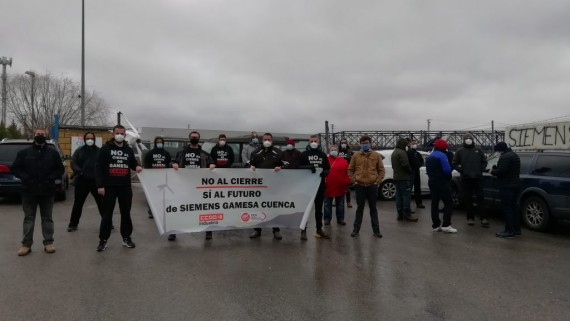 IU pide al Gobierno C-LM que invierta para salvar los puestos de trabajo que ha destruido Siemens-Gamesa