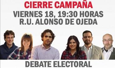 Acto Cierre de Campaña Unidad Popular Cuenca