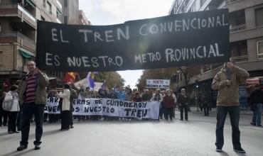 Izquierda Unida apuesta por invertir en la línea del tren convencional para Cuenca y su provincia.