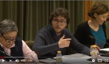 Vídeo intervención IU Pleno 28.12.17 sobre la resolución del PAU del Sector 3B.