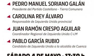 ????Acto Presentación de la Candidatura#TuIzquierda Izquierda Unida–Partido Castellano-Tierra Comunera
