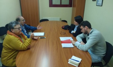 Entrevista de la AAVV de la Fuente del Oro con Pablo García, Candidato de Izquierda Unida