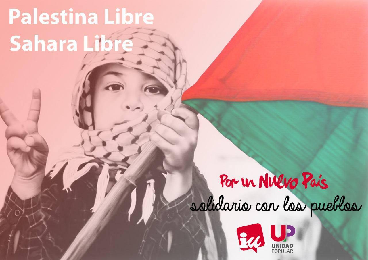 Palestina Libre Sáhara Libre